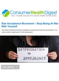 Link to Size Acceptance Movement – Stop Being At War With Yourself (December 2018)